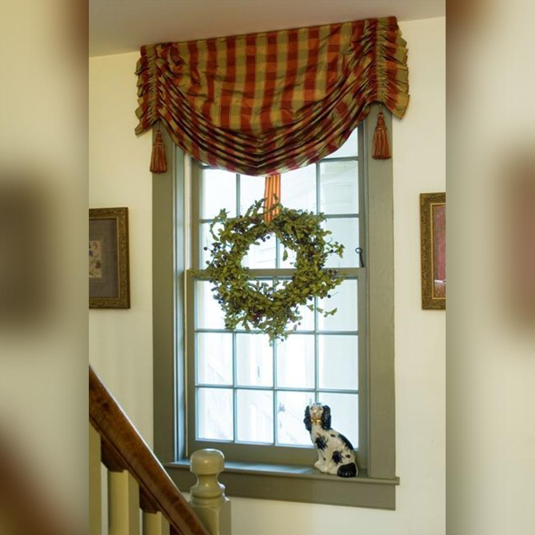 Dog Eared Valance
