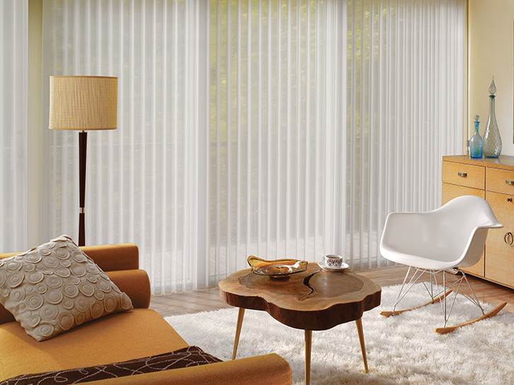 Comfortex Vertical Sheer Shadings